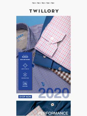 2020 Performance Shirts!