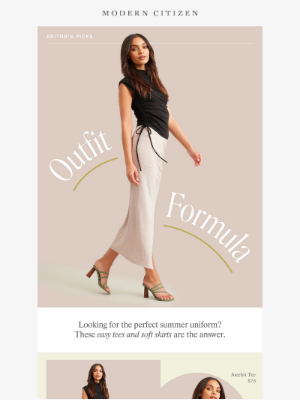 Modern Citizen - The effortless outfit formula you have to try 