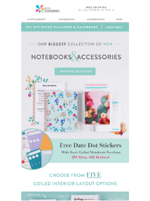NEW Notebooks & Accessories Plus Free Gift 🎁