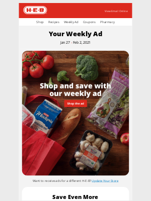 H-E-B - Debra - Your weekly ad is here!