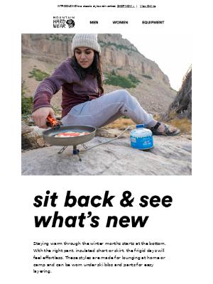 Mountain Hardwear - Start from the bottom.