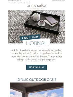 Annie Selke - Our Hobnail Rug Styled 11 Ways!