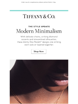 Tiffany & Co. - Style Update: Understated Jewelry