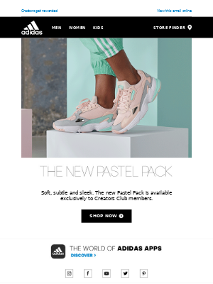 Creators Club exclusive: Pastel Pack out now ✨🙌🏼