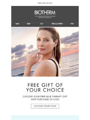 Biotherm - Choose Your Free Gift! 🎁 Find the perfect anti-aging solution for your skin.