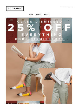 25% OFF Sitewide For The Weekend! 📝🍎