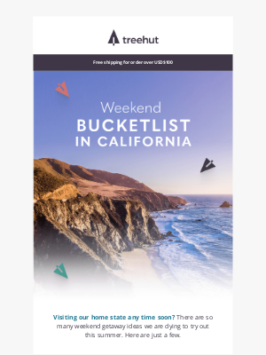 Tree Hut Design - Summer Adventure Ideas in California