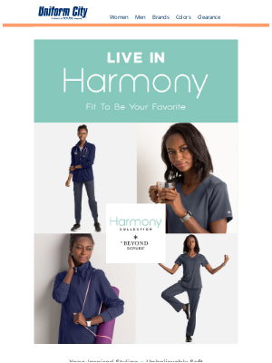 Scrubs & Beyond - Harmony: Fit to be Your Favorite
