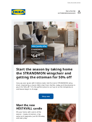 IKEA - Great prices to get your home fall-ready