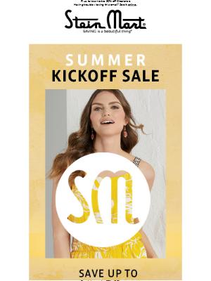 Summer Kickoff Sale: Dresses, Shorts & More!