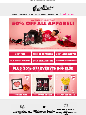 💘 Up to 50% off EVERYTHING! XOXO 💘