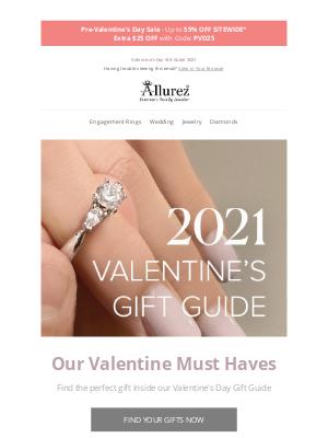 Allurez - Our Valentine Must-Haves  ❤️