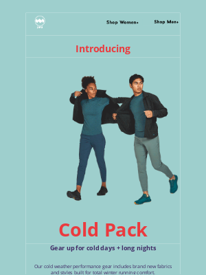 Janji - Cold Pack Out Now — Layer Up