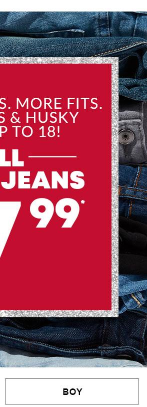 Boy Jeans $7.99
