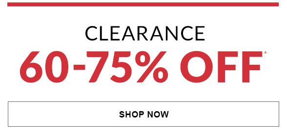 Clearance 60-75% Off