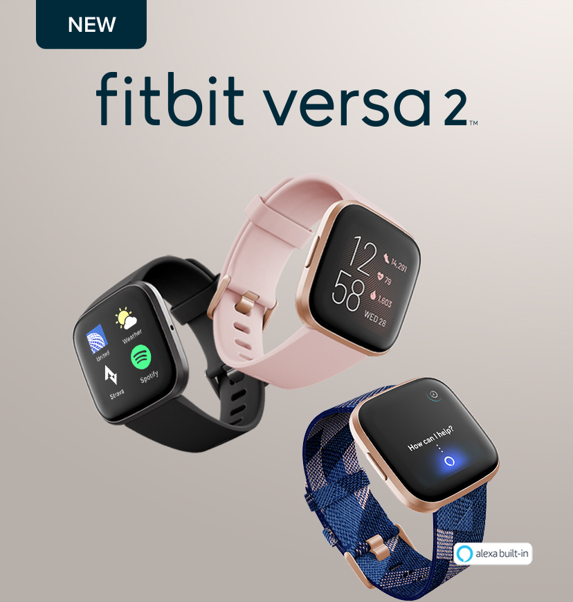 NEW fitbit versa 2™ - alexa built-in