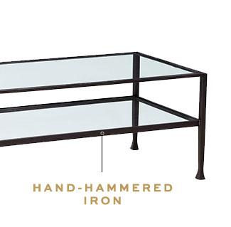 HAND-HAMMERED IRON