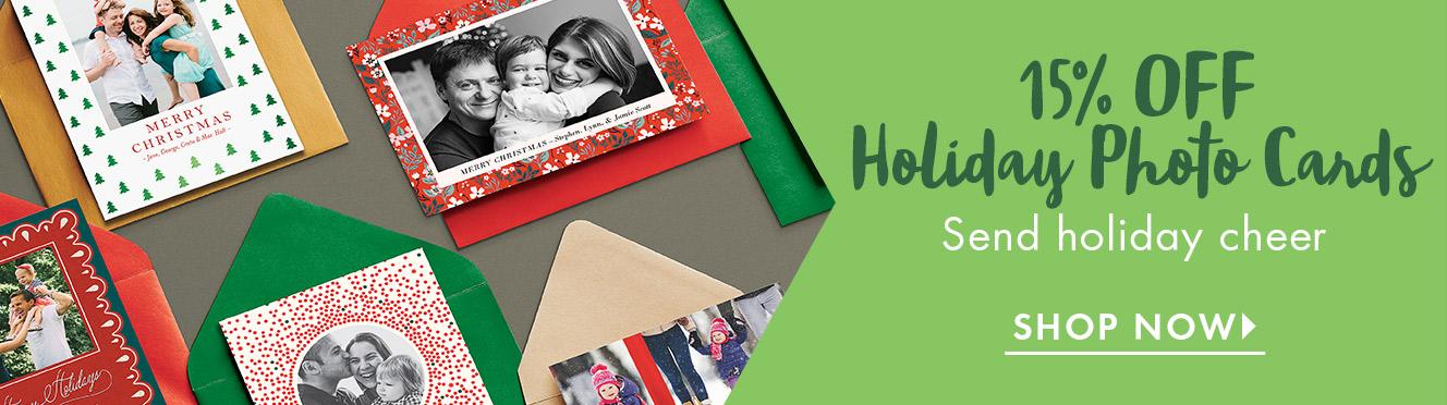 Holiday Photo Cards Promo