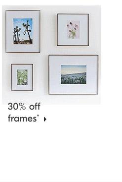 30% off frames