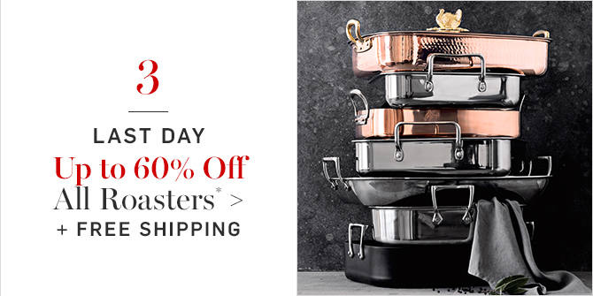 Up to 60% Off All Roasters* + FREE SHIPPING