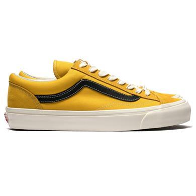 Vans Vault  OG Style 36 LX (Suede/Canvas) Old Gold/Black