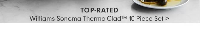 Williams Sonoma Thermo-Clad™ 10-Piece Set