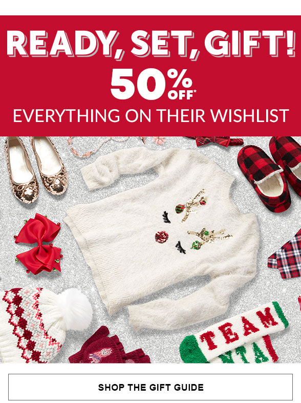 50% off the Gift Guide