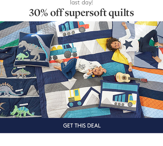 30% OFF SUPERSOFT QUILTS