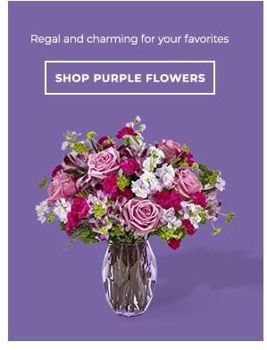 Shop By Purple Flowers