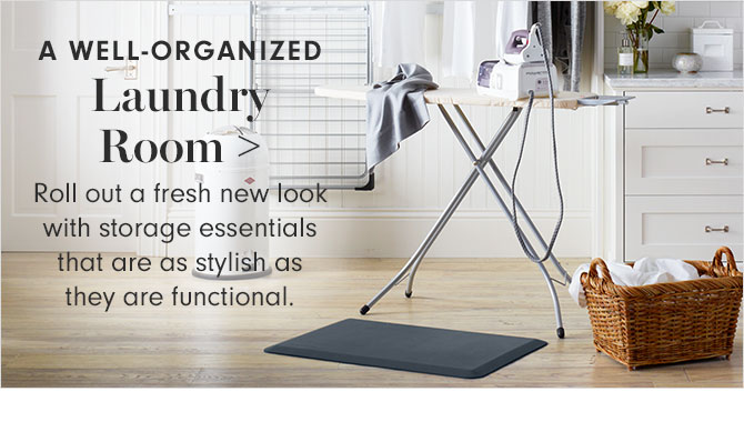 A WELL-ORGANIZED Laundry Room
