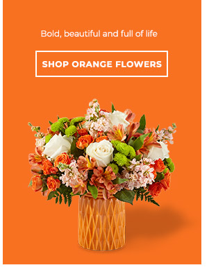 Shop By Orange Flowers