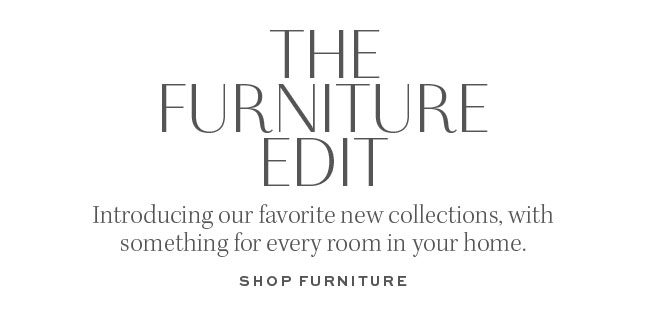 THE FURNITURE EDIT