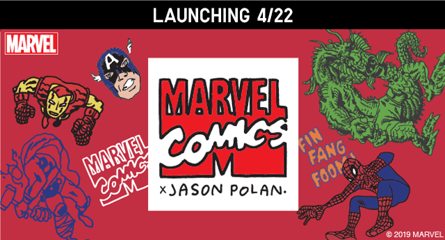 MARVEL COMICS X JASON POLAN