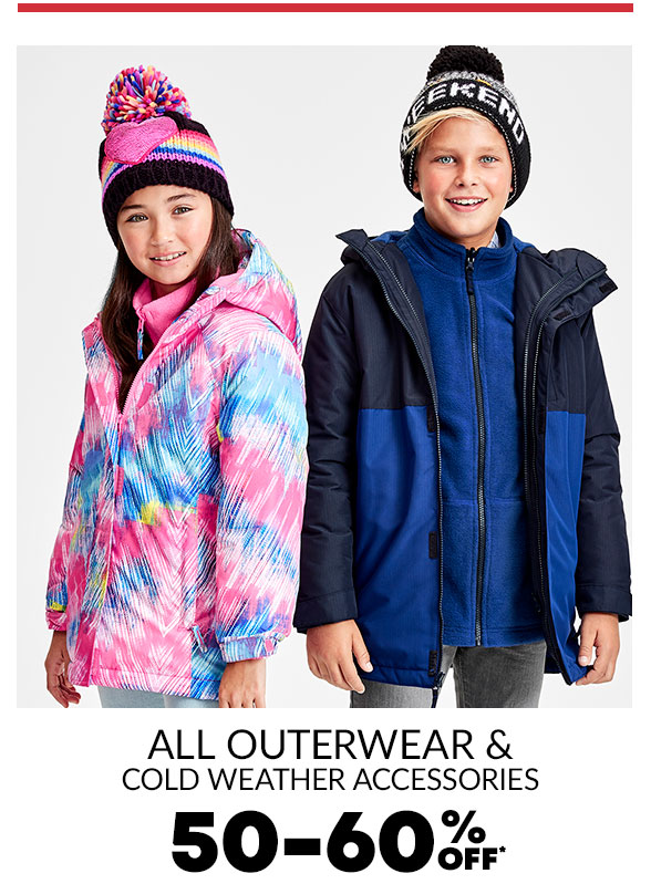 All Outerwear & Cold Weather 50-60% Off