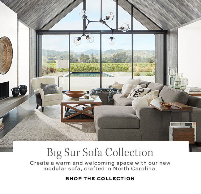Big Sur Sofa Collection