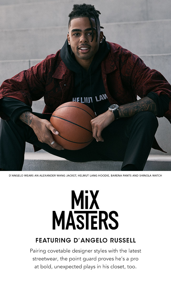 MIX MASTERS FEATURING D'ANGELO RUSSEL
