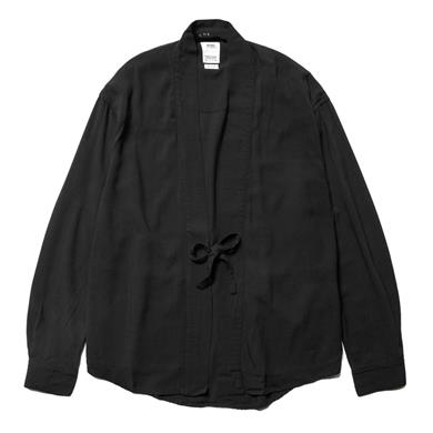 visvim  Lhamo Shirt (SL Rayon) Black