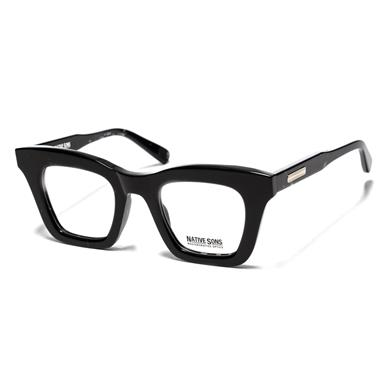 Native Sons  Valdez Optical Black Spazzle/Clear