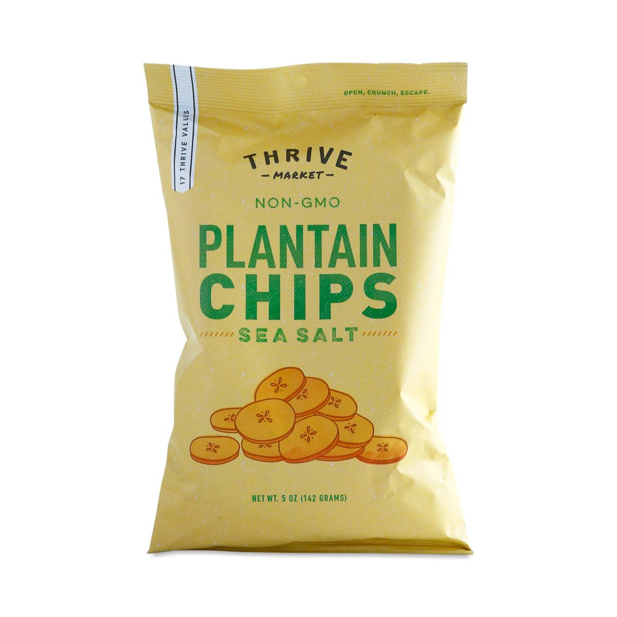 Plantain Chips, Lightly Salted