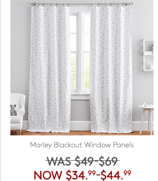 MARLEY BLACKOUT WINDOW PANELS