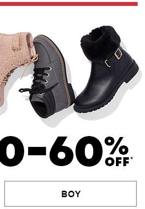 Boy Boots 50-60% Off