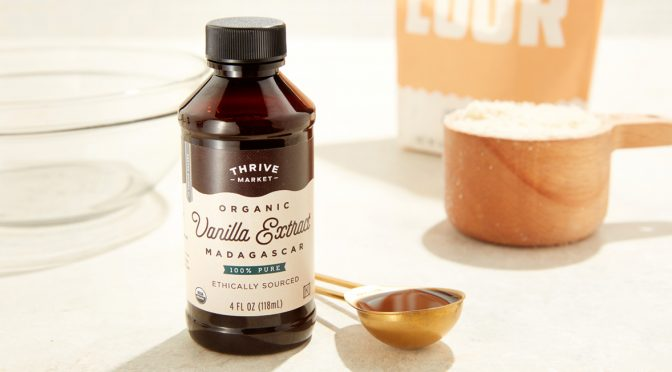 More Than a Flavor: Meet Thrive Market Organic Vanilla Extract