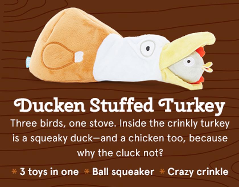 Ducken Stuffed Turkey