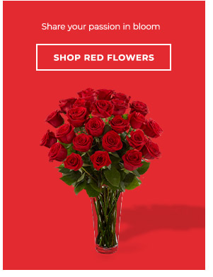 Shop By Red Flowers