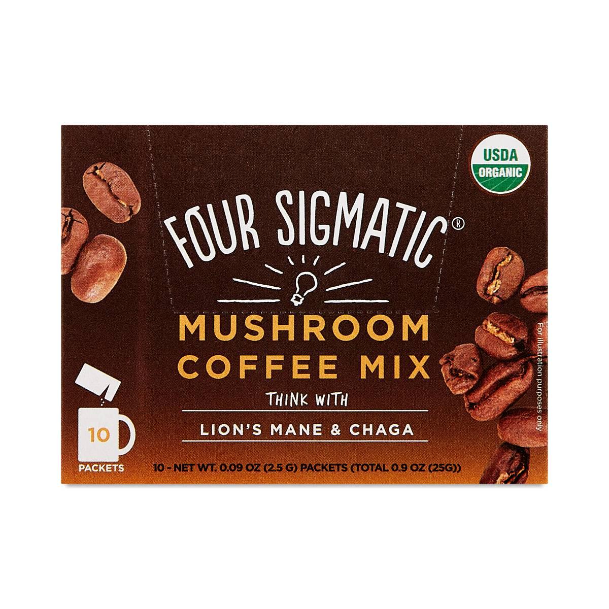 Lion's Mane & Chaga Mushroom Coffee Mix