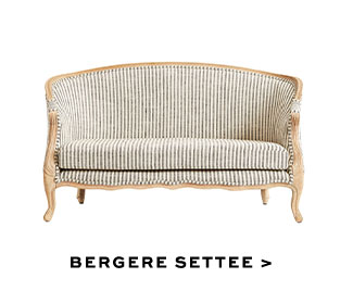 BERGERE SETTEE