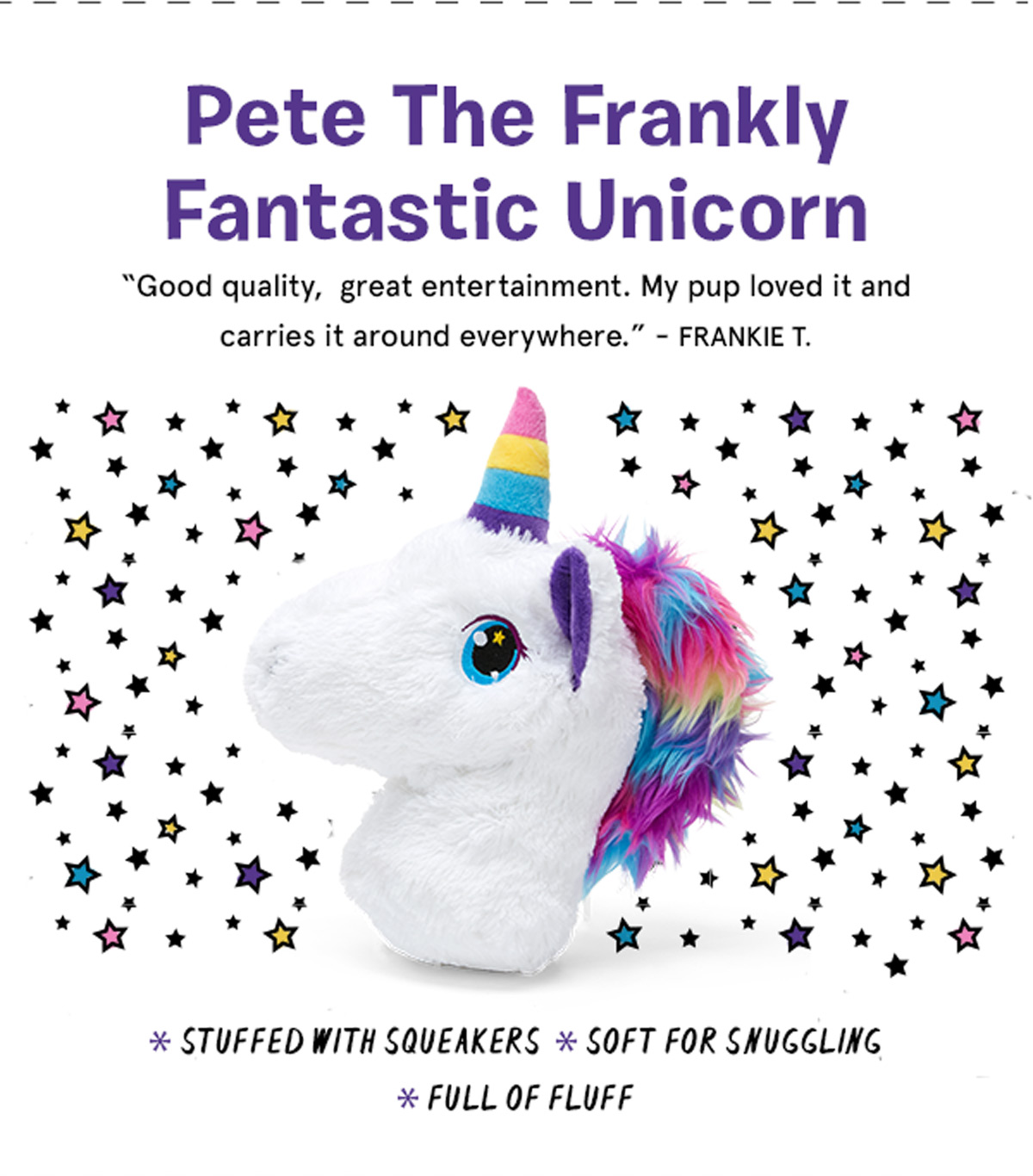 Pete The Frankly Fantastic Unicorn