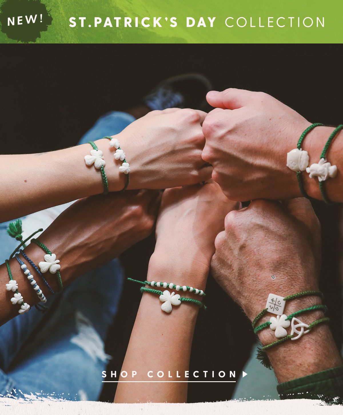 New! St. Patrick's Day Collection. Shop Collection