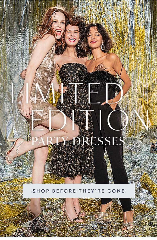 Shop occasion dresses.