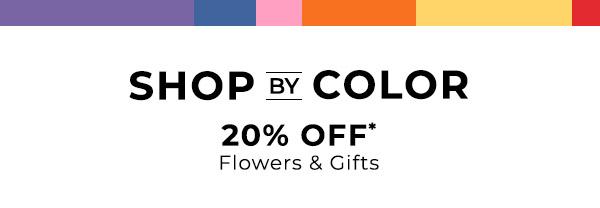 Shop By Color- 20% Off